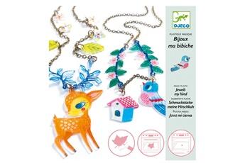 Mode et stylisme Djeco Création de bijoux en plastique magique : Le Faon et l'Oiseau
