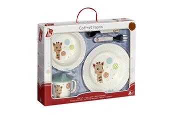 Vaisselle bébé Vulli Coffret repas Sophie la girafe : Les ballons