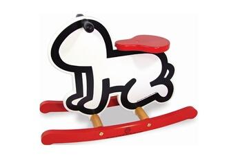 Jouets premier âge VILAC Bascule Keith Haring blanche