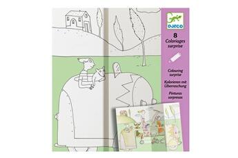 Peinture et dessin Djeco Coloriages Surprises : Cache-Cache