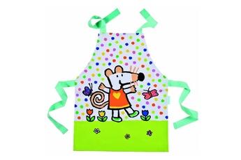 Vaisselle bébé Petit Jour Paris Tablier simple en toile cirée : Mimi dans son jardin