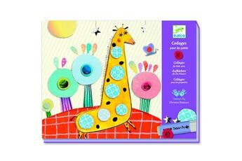 Peinture et dessin Djeco Collage pour les petits : Très pop