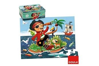 Puzzles Goula Puzzle 35 pièces : Pirate