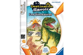 Jouets premier âge RAVENSBURGER Livre électronique tiptoi destination savoir : les dinosaures