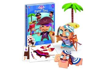 Peinture et dessin SENTOSPHERE Art & créations : paper toys pirates