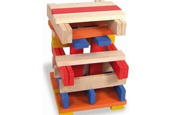 Jouets premier âge VILAC Cubes de construction : Batibloc couleur 100 pièces