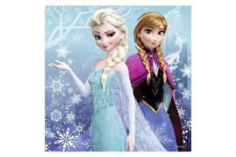 Puzzles RAVENSBURGER Puzzle 3 x 49 pi?ces : la reine des neiges (frozen) : aventures au pays des neiges