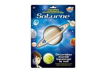 Toise BUKI FRANCE Décoration murale planète lumineuse : Saturne