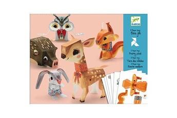 Peinture et dessin Djeco Paper toys : Bois joli