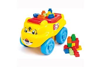 Jouets premier âge CLEMENTONI Cubes Clemmy plus : Traineau Tigre