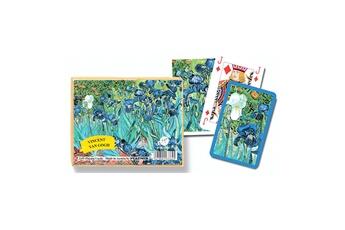 Jeux en famille Piatnik Jeu de cartes : Van Gogh : Iris 2 x 55 cartes