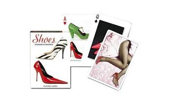 Jeux en famille Piatnik Jeu de 54 cartes chaussures