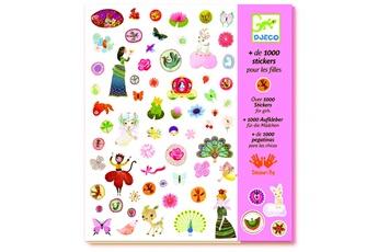 Peinture et dessin Djeco Stickers : 1000 stickers pour pour les filles