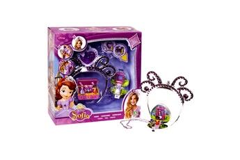 Bijoux GIOCHI PREZIOSI Bijoux princesse sofia : couronne et collier avec mini figurines