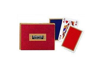 Jeux en famille Piatnik Jeu de cartes : coffret de 2 x 55 cartes : monogram de luxe