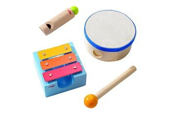 Jeux d'imitation HABA Instruments Petit coffret d'éveil musical
