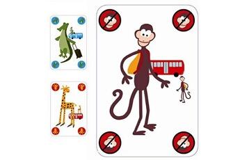 Jeux de cartes Djeco Jeu de stratégie et de rapidité Gorilla