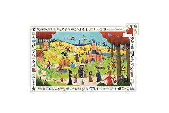 Puzzles Djeco Puzzle 54 pièces - Poster et jeu d'observation : Les contes