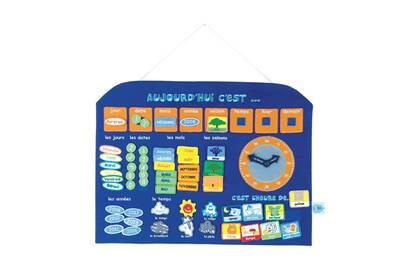 jeux ludo ducatifs ludi jbm calendrier horloge bleu darty. Black Bedroom Furniture Sets. Home Design Ideas