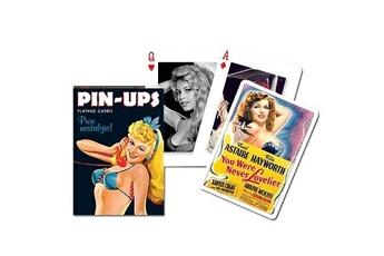Jeux en famille Piatnik Jeu de 54 cartes : Pin Ups