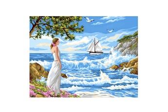 Peinture et dessin OZ INTERNATIONAL Peinture au numéro pour Initiés : L'appel de la mer