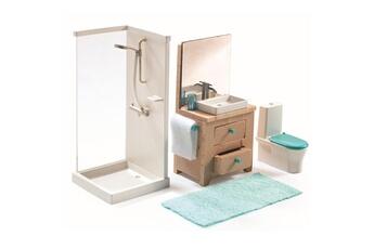 Accessoires de poupées Djeco Accessoire maison de poupées : La salle de bain