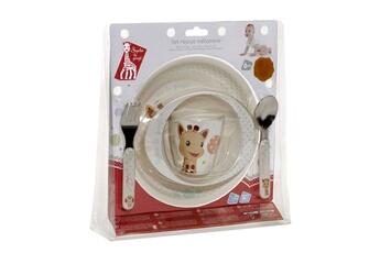 Vaisselle bébé Vulli Set repas mélamine sophie la girafe