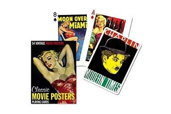 Jeux en famille Piatnik Jeu de 54 cartes Posters de films