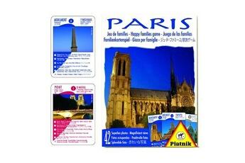 Jeux en famille Piatnik Jeu de 7 familles Souvenir de Paris