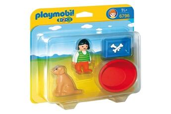 Playmobil PLAYMOBIL Playmobil 6796 - 1.2.3 - enfant avec chien