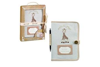 Accessoires pour la voiture Vulli Protège carnet de santé So'Pure Sophie la Girafe
