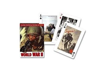Jeux en famille Piatnik Jeu de 54 cartes Seconde guerre mondiale