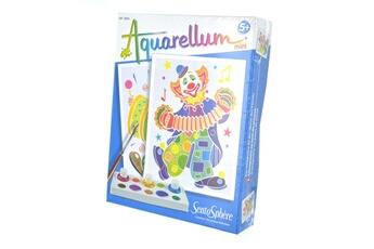 Peinture et dessin SENTOSPHERE Aquarellum mini clowns