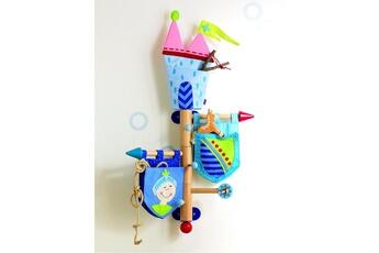 Coffre à jouets HABA Porte-manteaux Château fort