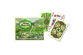 Jeux en famille Piatnik Jeu de cartes : coffret de 2 x 55 cartes : l'art des anciens jardins