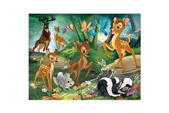 Puzzles Nathan Puzzle 30 pièces : bambi : promenade en famille