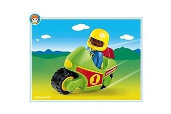 Playmobil PLAYMOBIL Playmobil 6719 - 1.2.3 - Enfant et moto de course