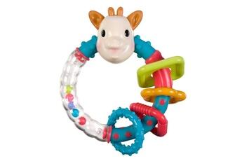 A la fois un hochet et un anneau de dentition à l´effigie de Sophie la girafe ! A découvrir : - Des