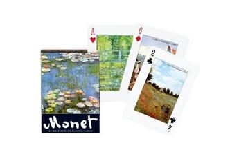Jeux en famille Piatnik Jeu de 54 cartes monet
