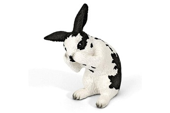 Figurines animaux Schleich Figurine lapin faisant sa toilette