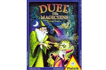 Jeux en famille Piatnik Jeu de cartes Duel des magiciens