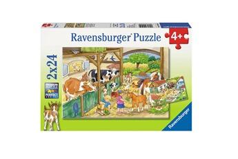 Puzzles 24 pi�ces journ�e � la ferme