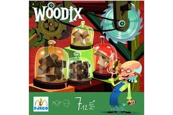Jeux ludo éducatifs Djeco Casse-tête en bois : Ensemble de casse-tête Woodix