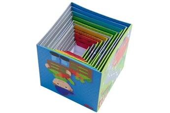 Jouets premier âge HABA Cubes à empiler : Petits Bolides