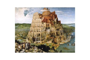 Puzzles Piatnik Puzzle 1000 pièces - brueghel : la tour de babel