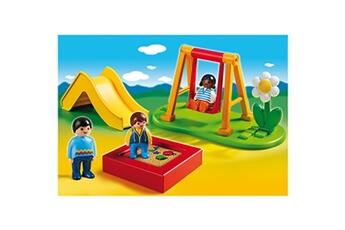 Playmobil PLAYMOBIL Playmobil 6785 - 1.2.3 - Enfants et parc de jeux