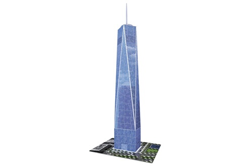 Puzzle 3d 216 pièces : one world trade center  new york