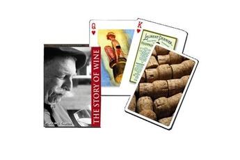 Jeux en famille Piatnik Jeu de 54 cartes histoire du vin