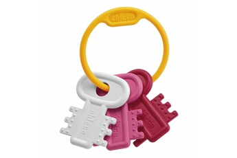 Les premières clés de bébé ! Elles sont légères et faciles à saisir. Elles sont idéales pendant la p