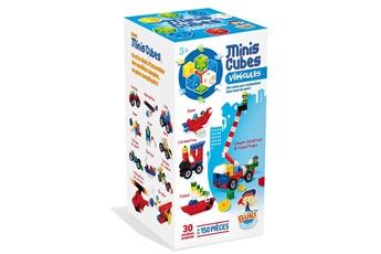 Autres jeux de construction BUKI FRANCE Jeu de construction Minis Cubes : Véhicules